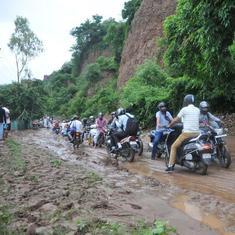 J&K: Traffic on Jammu-Srinagar highway suspended for second consecutive day after landslides