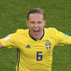 Proud Sweden power into World Cup last 16 by beating Mexico, knock Germany out