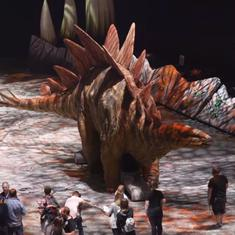 Watch: This video takes you behind-the-scenes of the biggest dinosaur show in the world