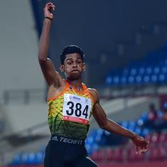 Athletics: Sreeshankar breaks long jump national record, sets season-best mark among U20 athletes