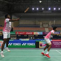 Hyderabad Open badminton: Satwik-Chirag and Sameer Verma bag titles, Pranaav-Sikki lose in the final