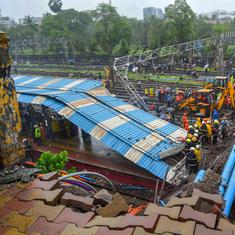 The big news: Five people injured after overhead bridge collapses in Mumbai, and 9 other top stories