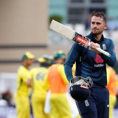Record-breaking England thrash Australia by 242 runs to win series