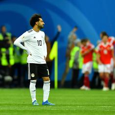 Unexpectedly brilliant Russia leave Salah and Egypt's World Cup dream in tatters