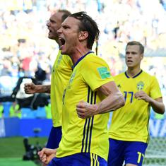 World Cup – as it happened: Sweden reach quarter-finals after 24 years, beat Switzerland
