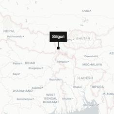 West Bengal: Truck driver injured as bridge collapses in Siliguri