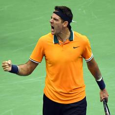 Defending champion Juan Martin del Potro pulls out of Indian Wells Masters due to knee injury
