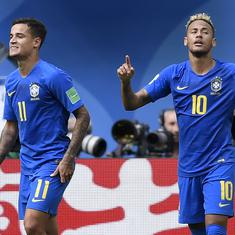 World Cup, Brazil vs Costa Rica as it happened: Coutinho and Neymar late goals win it for Selecao