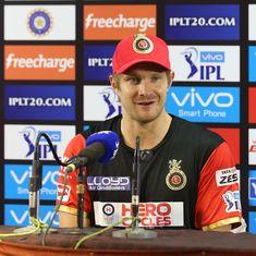 With injured Virat Kohli, AB de Villiers missing, Shane Watson to lead Royal Challengers Bangalore