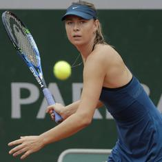 Sharapova says transition to grass took its toll after worst-ever performance at Wimbledon