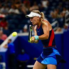 US Open Day 4 women's roundup: Wozniacki knocked out early again, Sharapova, Kerber advance