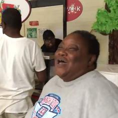 Watch: Residents at a shelter burst into song to lift their spirits during Hurricane Florence