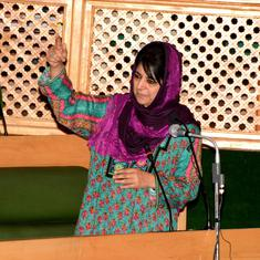 Kashmir: Court issues arrest warrant for BJP leader who allegedly verbally abused Mehbooba Mufti