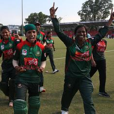 Asia Cup: Rumana Ahmed's all-round show propels Bangladesh to first win over India