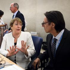 India expresses disappointment after UN human rights chief and Pakistan bring up Kashmir conflict