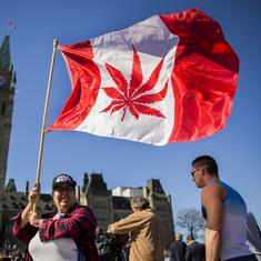 Canada legalises recreational use of marijuana