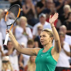 Tennis rankings: Halep secures year-end No 1 spot, Djokovic closes in on Nadal