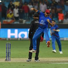 When you tie a match against India it's like a win, says Afghanistan captain Asghar Afghan