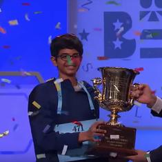 Watch: Could you have spelt 'koinonia' correctly? Karthik Nemmani did, to win the US Spelling Bee