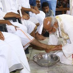 Two Kerala Catholic Church branches won't wash the feet of women this Maundy Thursday