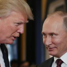 Russian President Vladimir Putin invites Donald Trump to Moscow, says he is ready to visit US