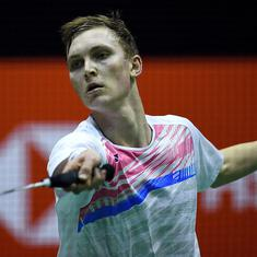 All England badminton: Viktor Axelsen, Chou Tien-Chen register contrasting wins to reach final