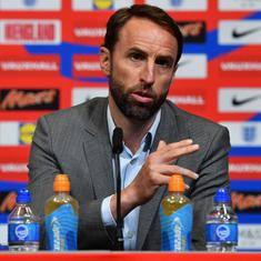 England's Southgate defends decision to rest players for 'biggest game in a decade' in round of 16