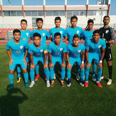 India Under-19 football team loses second match of tour 1-3 to Serbia U-19