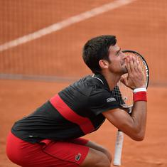 Djokovic arrives at a crossroad as he contemplates skipping Wimbledon after shock French Open exit