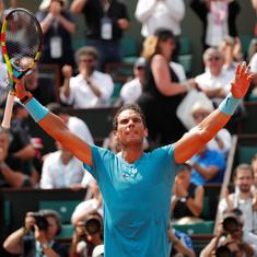 'I don't feel old': Nadal celebrates 32nd birthday with 900th career win