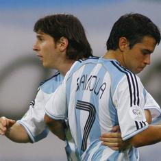 I think we should just let him be: Javier Saviola on Lionel Messi's future with Argentina
