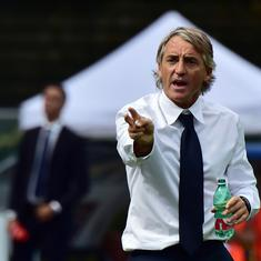 Roberto Mancini blames lack of confidence after new-look Italy rescue a point against Poland