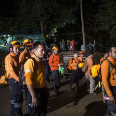 Thailand: Former Navy officer dies while rescuing 12 boys and football coach trapped in a cave
