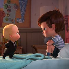 'The Boss Baby' film review: It's cutesy in bits but even that can't rescue the skimpy plot