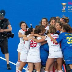 Women's hockey World Cup: Spain stun Germany, Australia beat Argentina to reach semis
