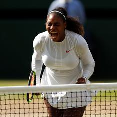 'I'm just getting started': Serena Williams defiant despite disappointing Wimbledon final defeat