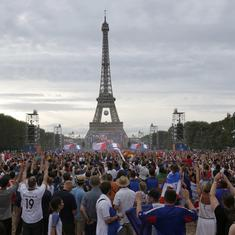 Eiffel Tower to be shut during France's World Cup final against Croatia