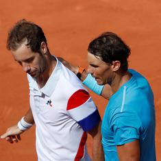 'He has an intensity which is monstrous': Gasquet hails Nadal after 16th straight loss