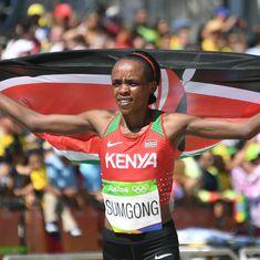 Kenya's Olympic marathon champion Jemima Sumgong handed four-year drugs ban