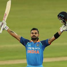 Kohli reaches sixth highest ODI rating points of all-time, Kuldeep breaks into top-10