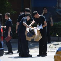 Explosion outside US embassy in Beijing, bomber injured