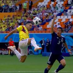 World Cup, Group H, Colombia v Japan live: Japan finally takes the lead against 10-man Colombia
