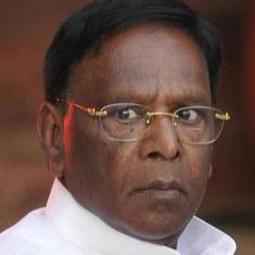 Centre, lieutenant governor posing hurdles for administration, alleges Puducherry CM  Narayanasamy