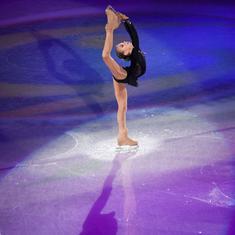 Watch: Aleksandra Trusova makes history, becomes first woman skater to execute quadruple Lutz jump