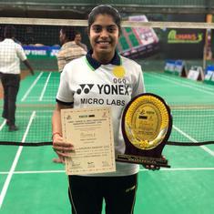 Badminton: Aakarshi Kashyap, qualifier Priyanshu Rajawat win All India Junior Ranking Tournament