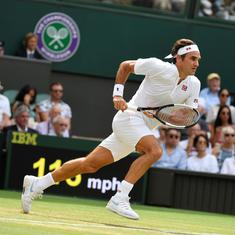 Wimbledon, day 7 men's roundup: Federer, Nadal cruise; Isner, Nishikori battle into quarters