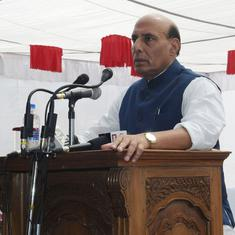 'They might start a #MeToo campaign': Rajnath Singh says the Congress will cheat its allies