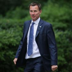 UK: Jeremy Hunt appointed foreign secretary after Boris Johnson resigns amid Brexit row