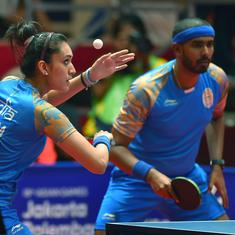 Table Tennis: Manika reaches 51st spot in ITTF rankings; Sharath, Sathiyan remain on 30 and 31