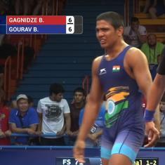 Gaurav Baliyan wins silver at Wrestling Cadet World Championships